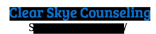Logo | Clear Skye Counseling & Career Coaching | Susan Maguire, Counselor & Career Coach | Alexandria, VA 22314 | Washington, DC 20036